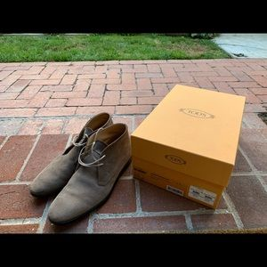 Tods Desert Boots in Suede